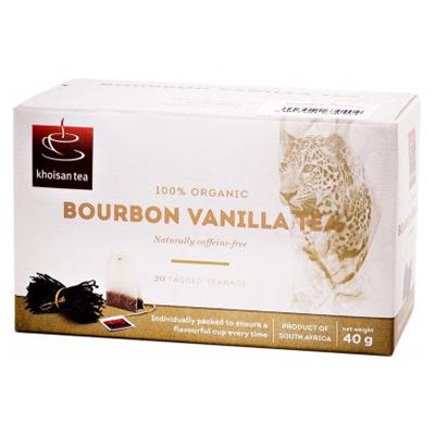 Khoisan Tea Organic Rooibos Bourbon Vanilla 40g