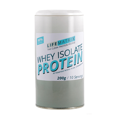 Life Matrix Whey Isolate Protein 200g / 400g / 1kg