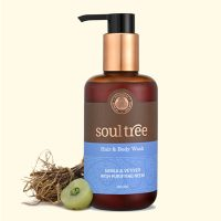 Soul Tree Hair & Body Wash – Aamla & Vetiver with Purifying Neem 250ml