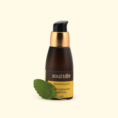 Soul Tree Moisturising Gel – Tulsi & Sandalwood 40ml