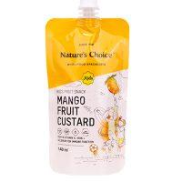 Nature's Choice Kids Fruit Snack Mango Fruit Custard 140g
