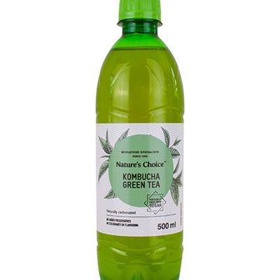 Nature's Choice Kombucha Green Tea 500ml