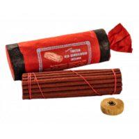 Snow Lion Mandala Art Tibetan Red Sandalwood Incense