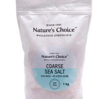 Nature's Choice Coarse Sea Salt 1kg