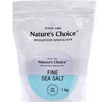 Nature's Choice Fine Sea Salt 1kg