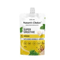 Nature's Choice Super Smoothie Banana with added Moringa & Linseeds 140g