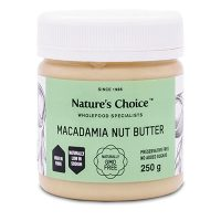 Nature's Choice Macadamia Nut Butter 250g
