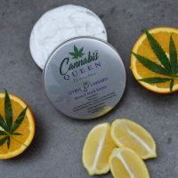 Cannabis Queen   Stretch Mark Butter 200ml