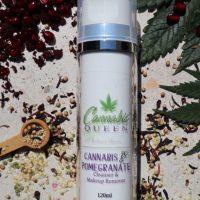 Cannabis Queen | Cannabis & Pomegranate Cleanser & Makeup Remover 120ml