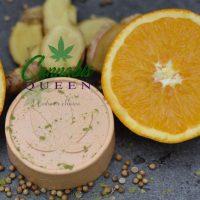 Cannabis Queen   Cannabis, Orange & Ginger Soap 130g