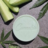 Cannabis Queen   Aloe, Cucumber & Cannabis Soap 130g
