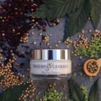 Cannabis Queen   Rosehip Night Cream 50ml