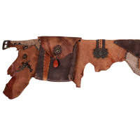 Cypher Crafts | Brown Leather Belt Pockets