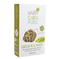 Happy Earth People Green Pea Penne Pasta 250g