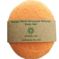 Natural Life | Mango Wool wrapped Soap Bar