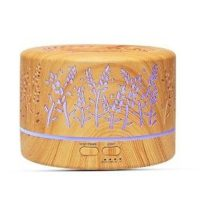 OHM Diffuser For Essential Oils (LED Light & Timer) 700ml
