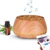 OHM Diffuser For Essential Oils (Smart APP, Bluetooth Speaker, LED Lights) 400ml