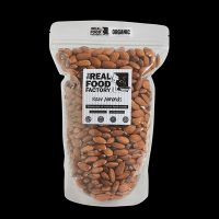 The Real Food Factory | Organic Raw Almonds 150g / 300g / 1kg