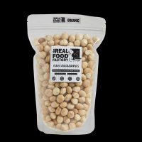The Real Food Factory | Organic Raw Macadamias 150g / 300g/ 1kg