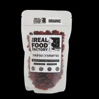 The Real Food Factory | Organic Sundried Cranberries 150g / 300g / 1kg