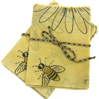 Simply Bee Daisy Beeswax Wrap – 2 pack