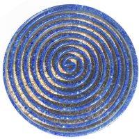 African Goddess   Lapis Lazuli & Glitter Coaster