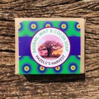 Hazel's Harvest | Mint & Cocoa Natural Vegetable Soap (120g bar)