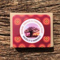 Hazel's Harvest | Baobab, Orange & Cinnamon Natural Vegetable Soap (120g bar)