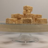 Coral's Confectory   Vanilla and Roasted Coconut Marshmallows 250g